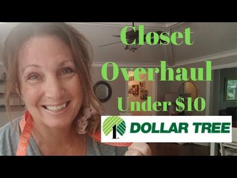 Closet Overhaul For Under $10 | Dollar Tree Makeover