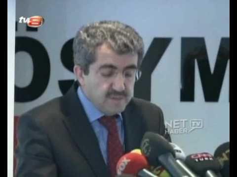 ÖSYM Başkanı Ali DEMİR'in Kopya (İntihal) Çektiği  İddiası