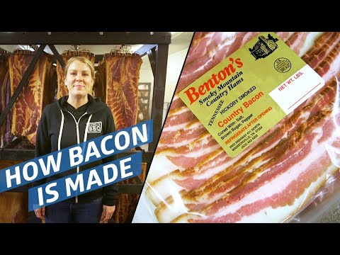 Watch: How Benton's Makes Its Perfectly Smoky Bacon