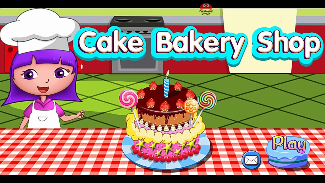 Dora The Explorer Birthday Cake Shop Best Game For Kids Youtube