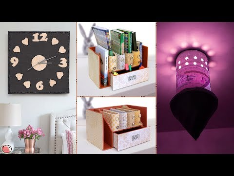 10 DIY Home Decor & Organization Ideas !!! Craft Compilation