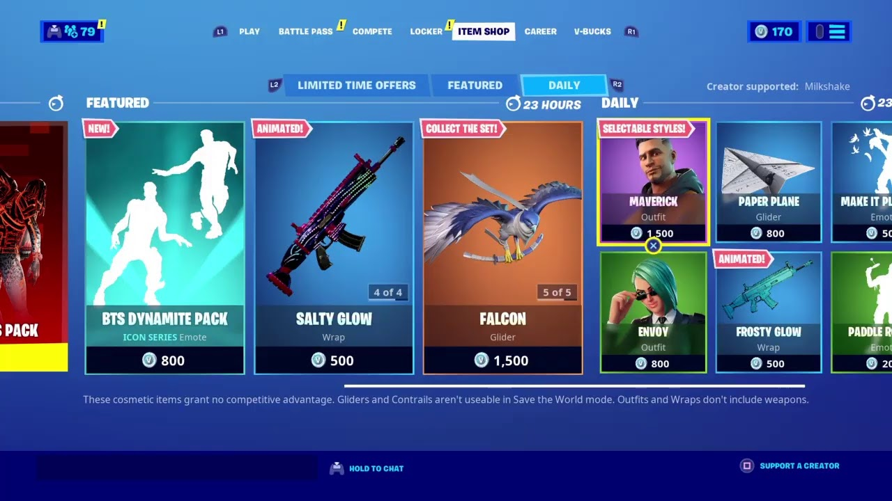 """*NEW* FORTNITE """"BTS DYNAMITE PACK""""! GIFTING SUBSCRIBERS SKINS! 9/23 ITEM SHOP REFRESH"""