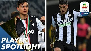 Dybala is the top dribbler & De Paul most assists!   Player Spotlight   Serie A