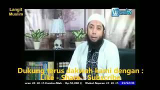 Hukum wali hakim pernikahan dari KUA, DR Khalid Basalamah,MA