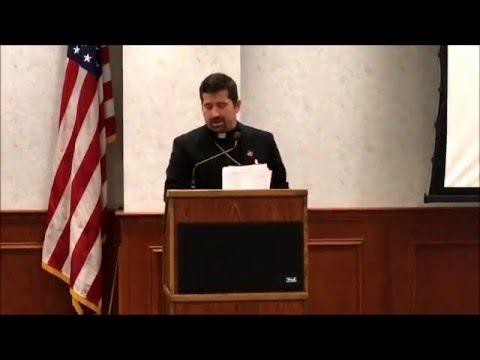 Fr. Emmanuel Lemelson Lecture Naval War College - February 3, 2016