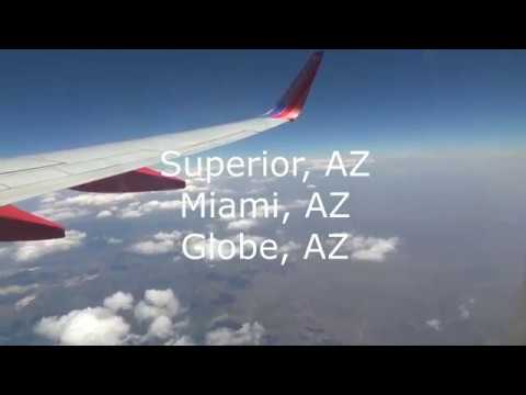 Southwest Airlines Trip Report from Phoenix, AZ-Oklahoma City, OK-Houston, TX
