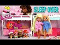 LOL Doll Family Slumber Party with LOL OMG Dolls – Secret Crush Revealed