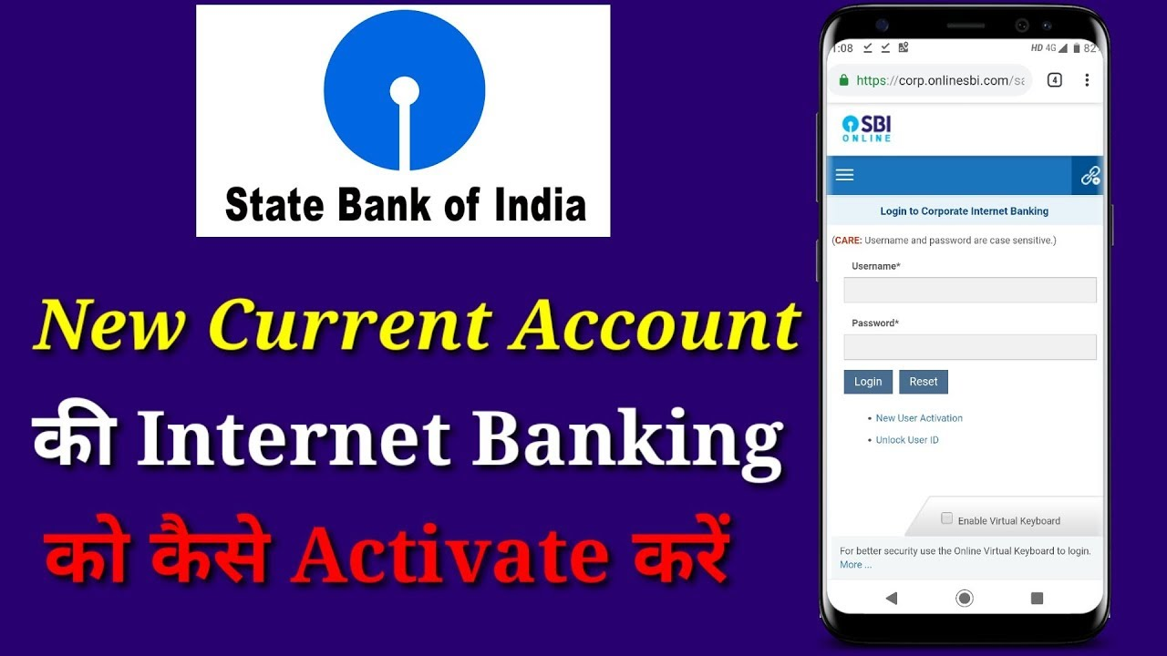 sbi corporate saral login page