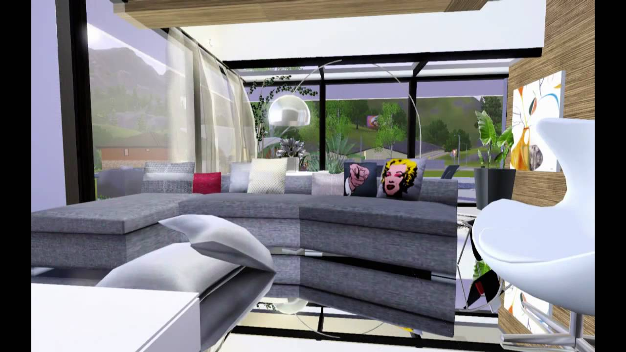 HD Modern Luxury House Design •The Sims 3• - YouTube