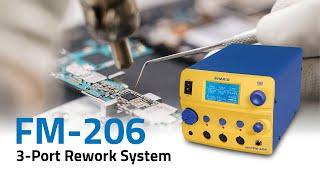 FM-206 3-Port Rework System