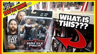 TOY HUNT!!! FINDING BROCK & ROMAN USO!!! WWE Action Figure Warehouse Fun #117