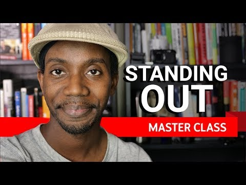 Standing out on YouTube | Master Class ft Roberto Blake
