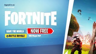 "FORTNITE ""SAVE THE WORLD FREE"" RELEASE DATE! (Fortnite SAVE THE WORLD FREE to PLAY)"