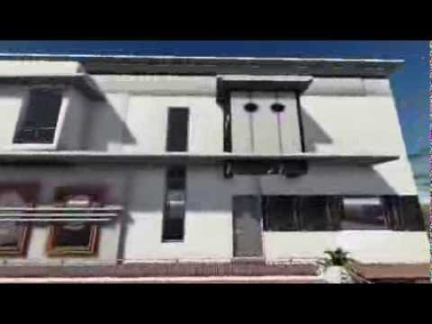 Projet D'Une Villa Moderne Ala Marocaine By Mohcin Elaouni Et Atik