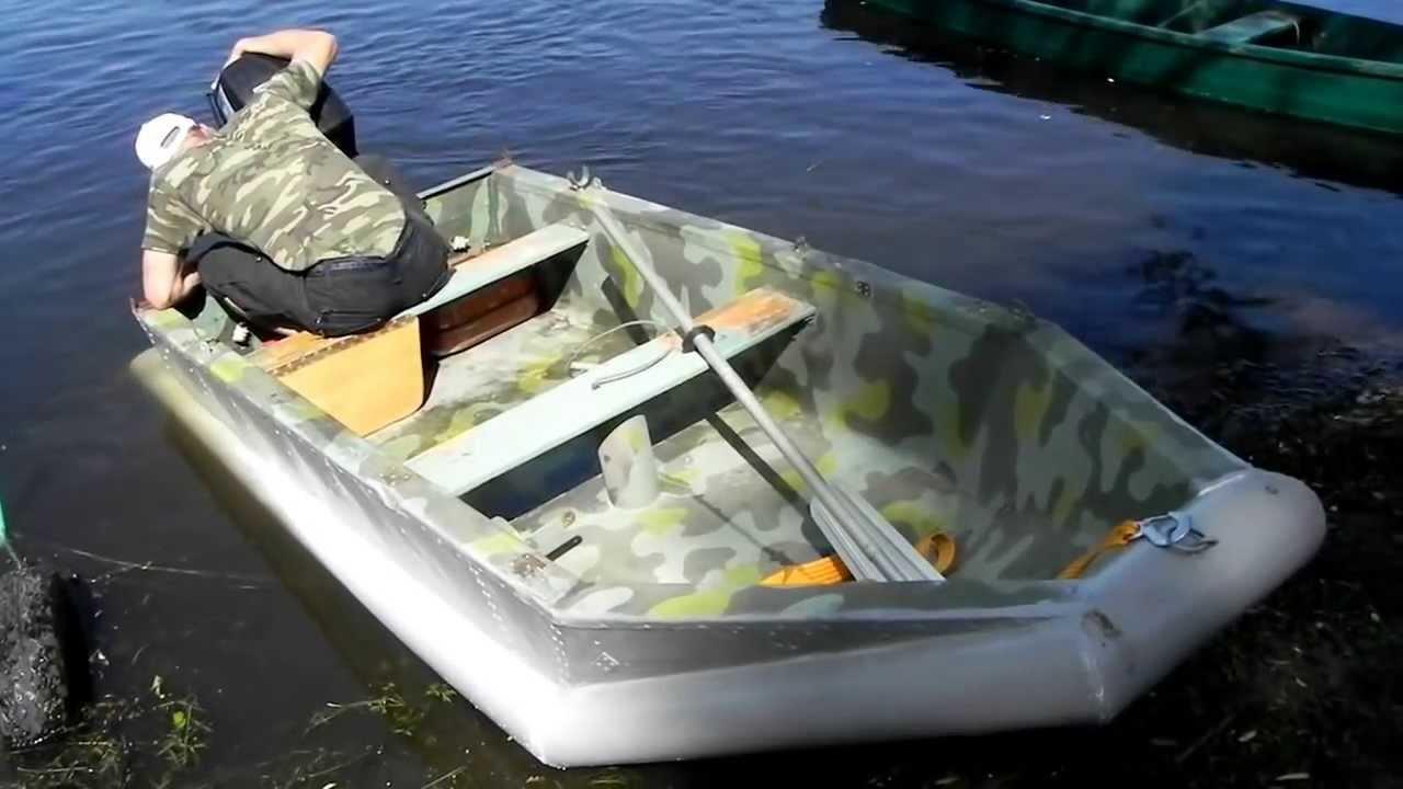 Моторная пвх лодка своими руками фото 280