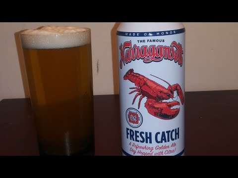 The Famous Narragansett Fresh Catch.. Lobster Beer? 🍺