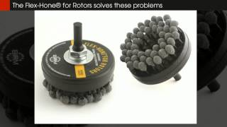 Flex-Hone for Rotors® - DIY Brake Resurfacing