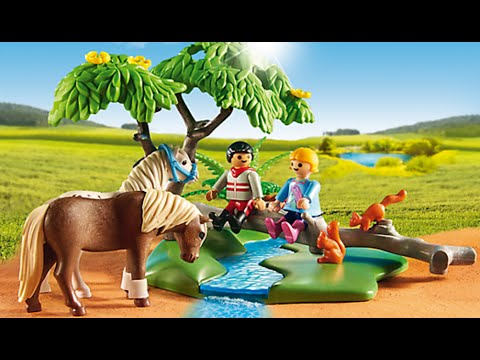 playmobil reiterhof country 2017 ponyhof youtube. Black Bedroom Furniture Sets. Home Design Ideas