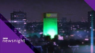 Grenfell: Grief, loss and being a teenager - BBC Newsnight