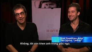 Scott Speedman & Director Atom Egoyan From 'THE CAPTIVE' (2014)