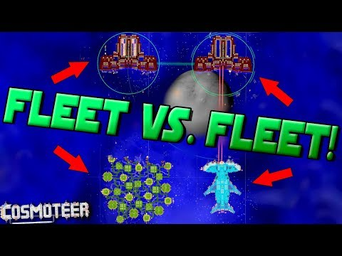 HARDEST DIFFICULTY with FLEETS! - Cosmoteer Gameplay Ep13