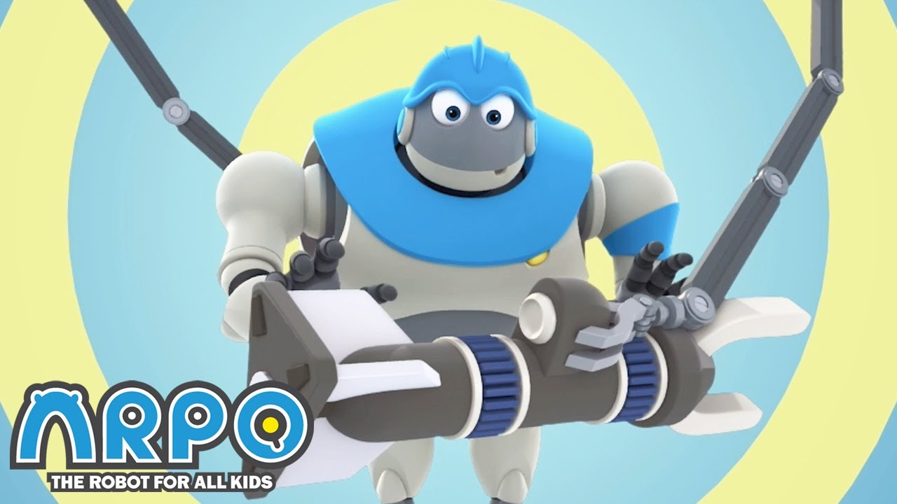 Arpo the Robot | Who is Arpo? | Best Moments | Funny Cartoons for Kids | Arpo and Daniel