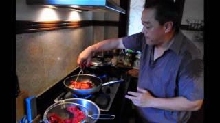 ข้าวหมูแดง ง่ายๆ , Roasted (red) Pork : ป๋าปึกส์