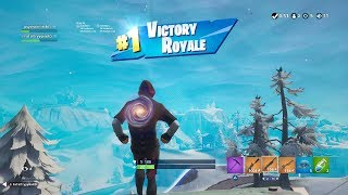 "FORTNITE First Win with ""IKONIK"" SKIN (SAMSUNG IKONIK OUTFIT Showcase) + ""SCENARIO"" EMOTE 