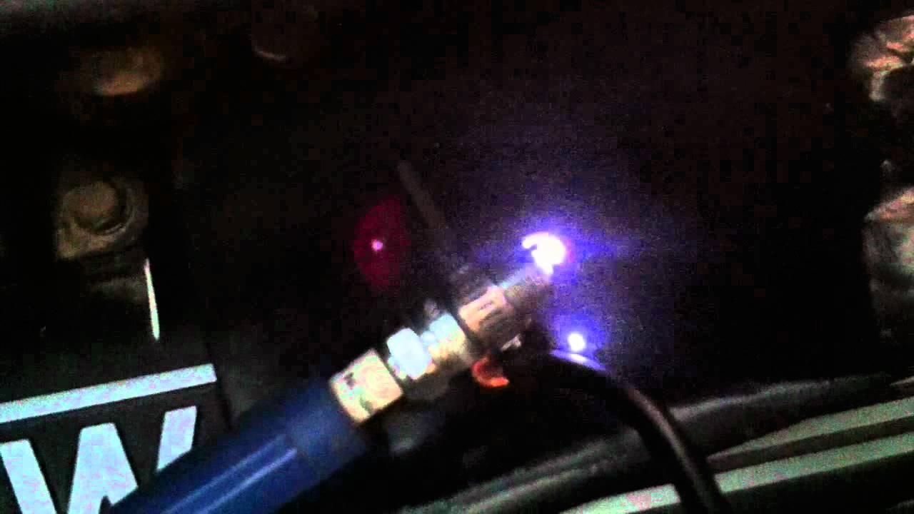 Plasma Spark Plug w Plasma Ignition Tungsten Electrode  YouTube