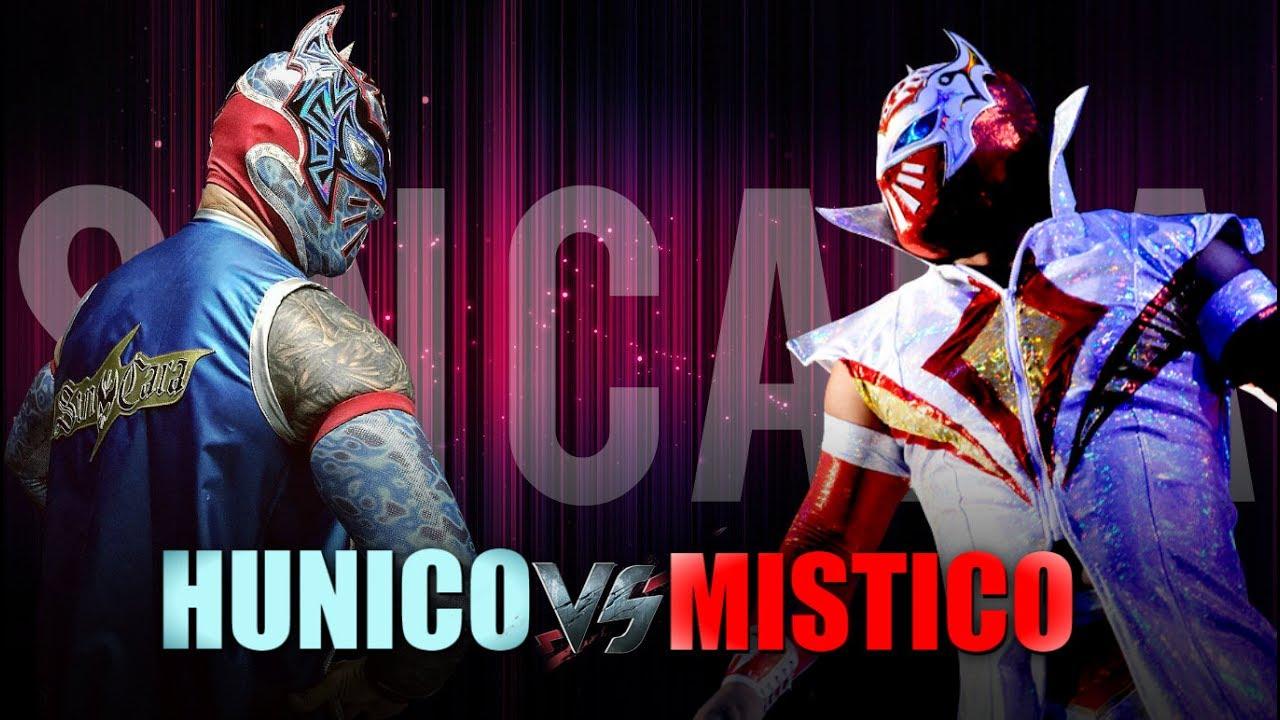 "WWE Sin Cara(Mistico) vs Sin Cara(Hunico) ""We Are"" (Remix) HD"