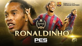 PES 2018 - Ronaldinho Legend Trailer
