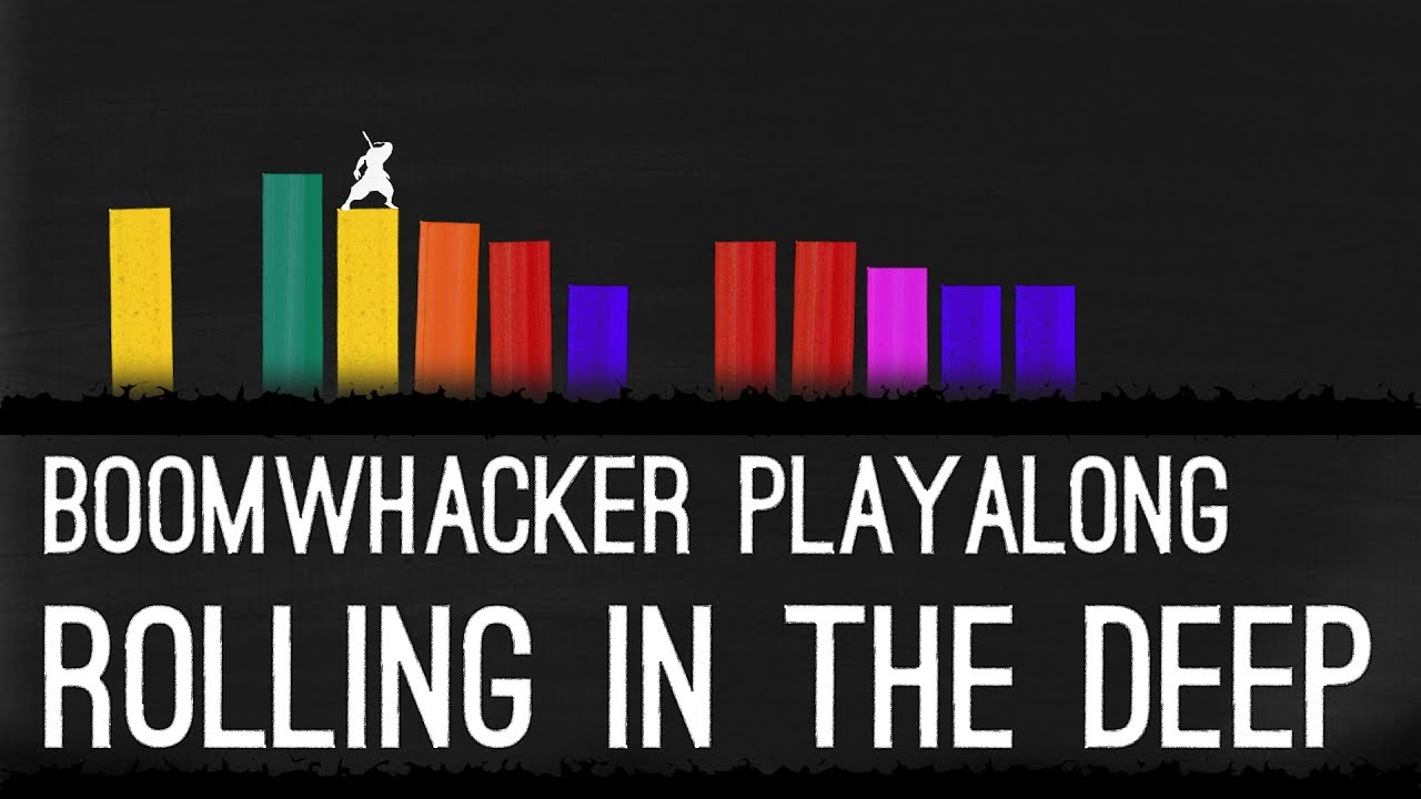 Rolling in the Deep - Boomwhackers - YouTube Rolling In The Deep Songtekst