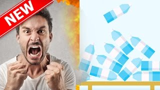 Most FRUSTRATING GAME In The World!! Worse Than Flappy Bird!! - New Bottle Flip 2K16 App On IOS!