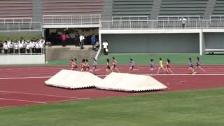高校女子1500m 予選 3組 5月19日 1着 4:53.45 [4285] 中村 佑唯 (2) 水...