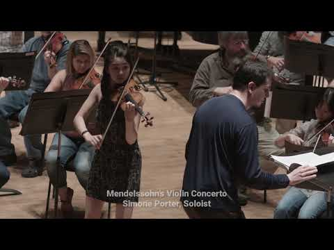 Sibelius' Second Symphony & Mendelssohn's Violin Concerto - Clips from Dress Rehearsal