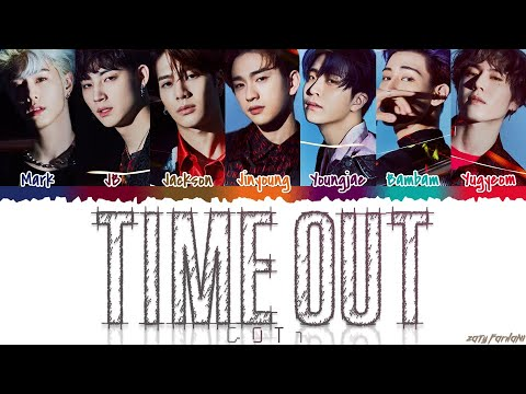 GOT7 갓세븐 - &39;TIME OUT&39;  Color CodedHanRomEng
