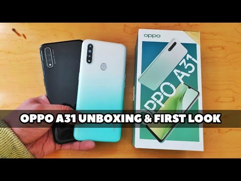 Oppo A31 Unboxing & First Look