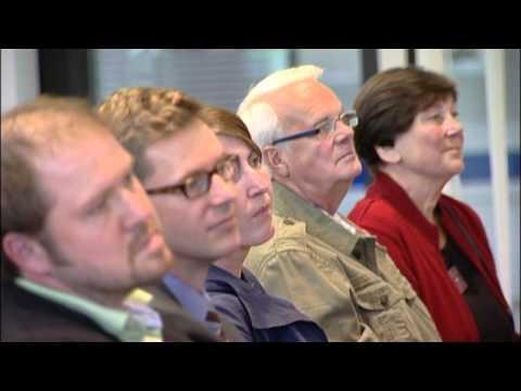 Podiumsdiskussion von Spitzensportlern im Schweriner Ludwig-Bölkow-Haus