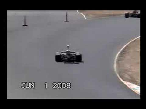 Lola T332 crash
