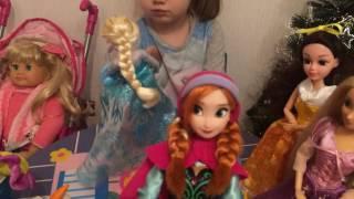 День рождения Эльзы. Frozen , Куклы Дисней, Disney Princess(, 2017-01-08T08:22:00.000Z)