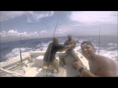 VLOG # 4 DEEP SEA FISHING GUAM (AQUAMAN CHARTERS)