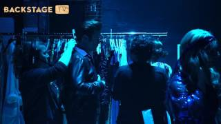 BACKSTAGE TV: BAG SCENEN hos Saturday Night Fever