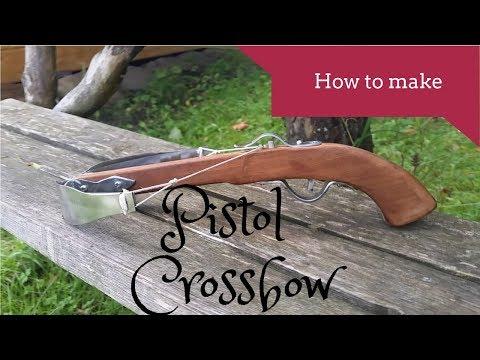 Homemade crossbow pistol 🏹