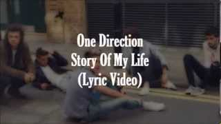Download lagu One Direction Story of My Life Lyrics Pictures MP3