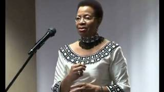 Mrs Graça Machel Speech Part 1
