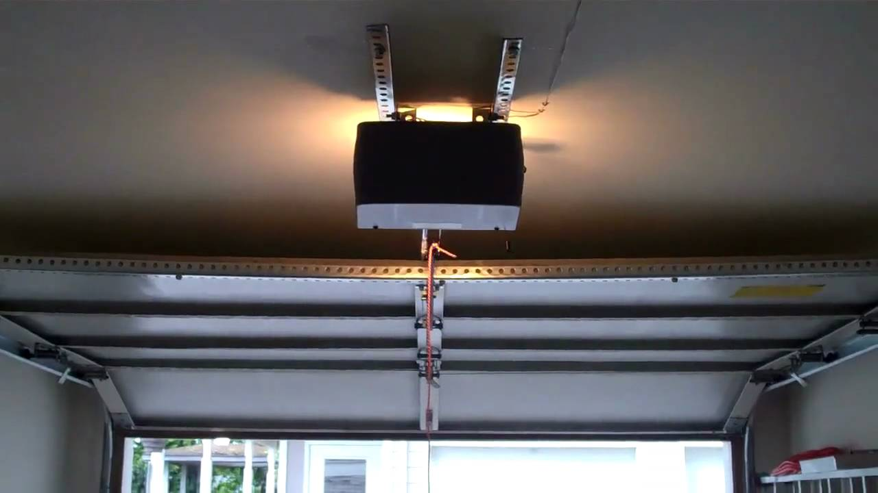 Sears Bad Garage Door Opener Installation Youtube