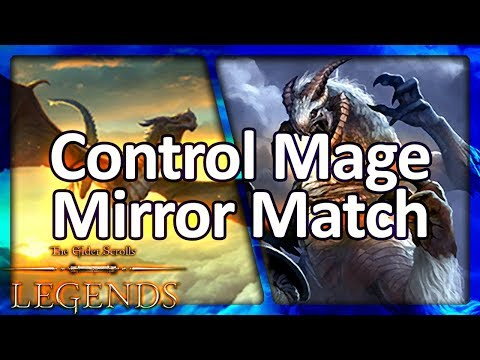 (TES: Legends) The Longest Control Mage Match of All Time