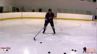 How to Shoot Backhand in Hockey