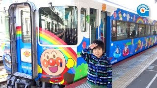 アンパンマントロッコ号【がっちゃんの電車で行こう!シリーズ】