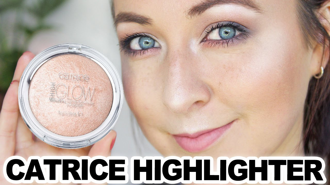 Catrice Cosmetics Highlighter Review Demo Youtube